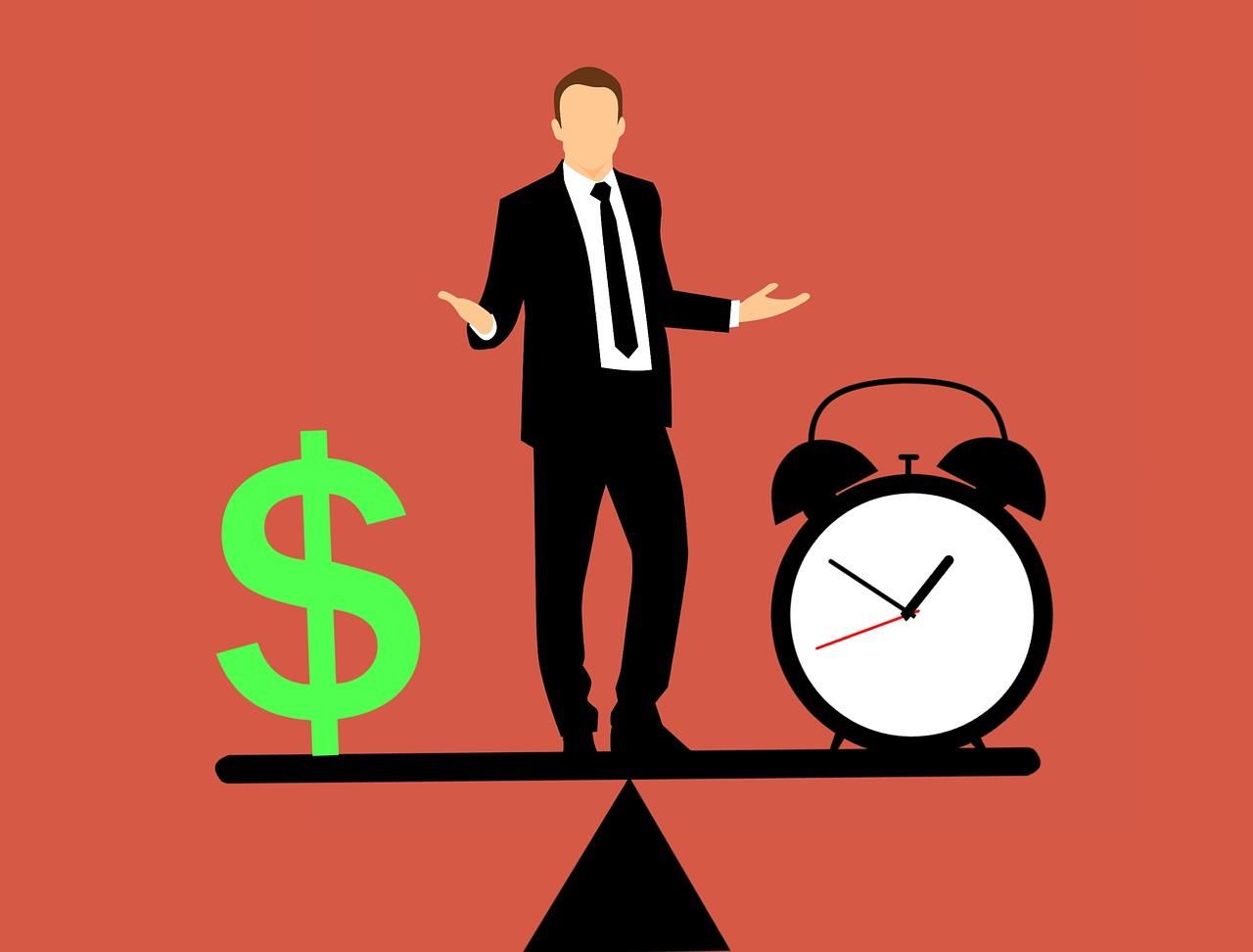 時間とお金どっちが大事?